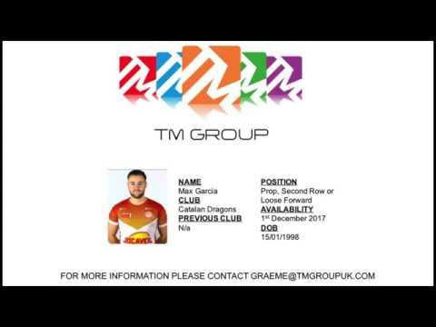 Max Garcia Catalan Dragons Highlights 2017