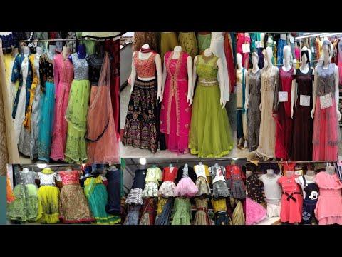 Majestic shopping mall ||Alangar plaza || long frock and lehanga collections
