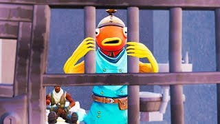 FISHSTICK GOES TO JAIL! Fortnite Animations Short Film Movie