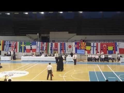 11th Belgrade Kendo Trophy 2016  - Men Individual Final