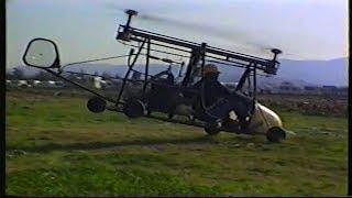 Caduta in Volo Di Un Elicottero Autocostruito