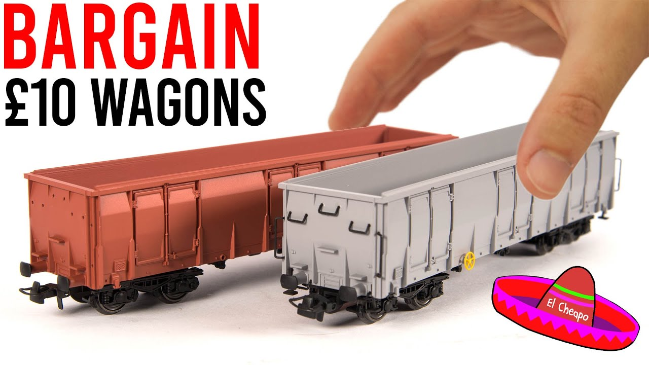 Bargain £10 AliExpress Model Railway Wagons | Worth Buying? | Unboxing & Review