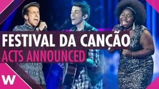 Portugal 2017: Festival da Canção - 16 Semi-Finalists (REACTION)