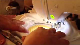 How to Applique a Shirt on a Brother PE770 Embroidery Machine