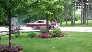 64 Ford Galaxie 500 Xl Burnout !