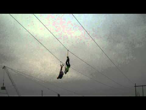 Ziplining & Ropes Course at Adrenaline Adventures in Winnipeg, MB