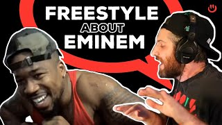 Harry Mack Freestyles About Eminem and His Top 5 Rappers | True Hip Hop Talk with Stevie Knight