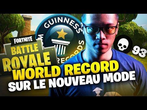 WORLD RECORD SUR LE NOUVEAU MODE FORTNITE | 93 KILLS Feat Mickalow & Teeqzy