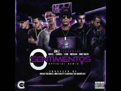 Sentimientos 0- Jon Z - Noriel - Darkiel - Lyan - Messiah feat Baby Rasta (Audio Official)