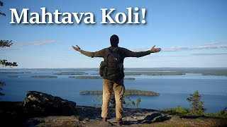 Hiking at Koli, Finland - Awesome Landscape and a Cave