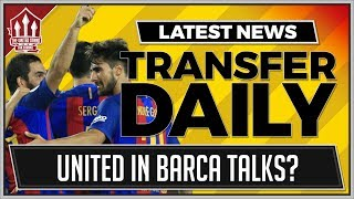 Manchester United are chasing Barcelona midfielder Andre Gomes acco...
