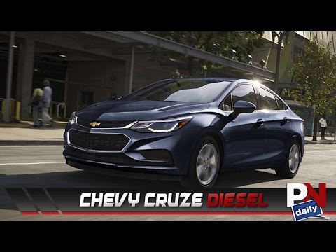The Chevy Cruze Diesel Gets Better Gas Mileage Than A Prius