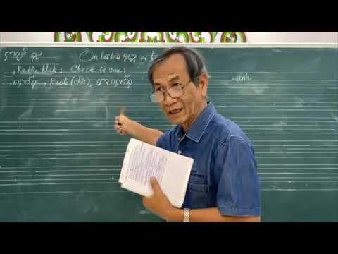 Dạy học tiếng Cham - Bài #14