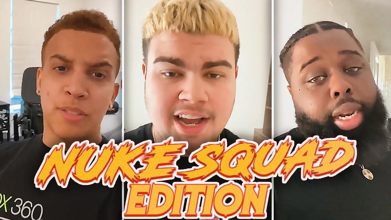 Pass The Phone Challenge Nuke Squad Edition!