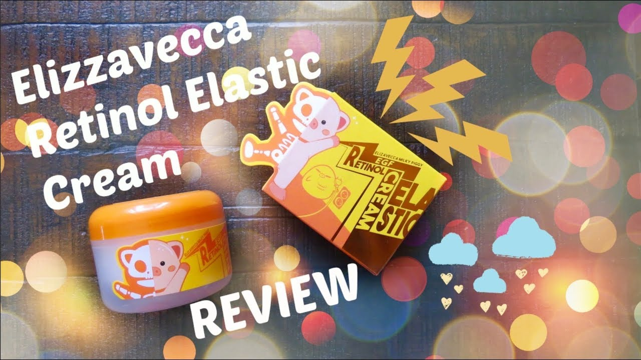 Elizavecca EGF Elastic Cream Retinol Review