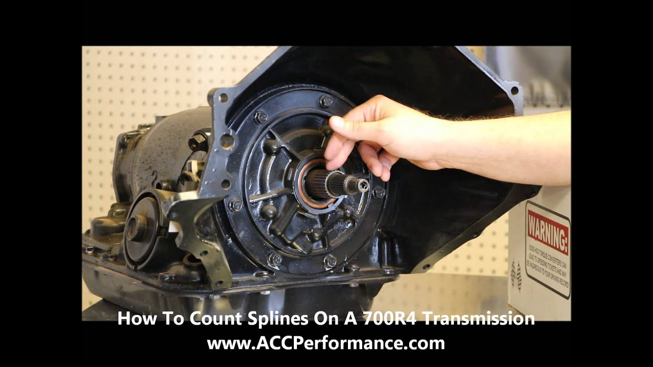 ACC Performance Products Plus - How To Count The Splines On A ...