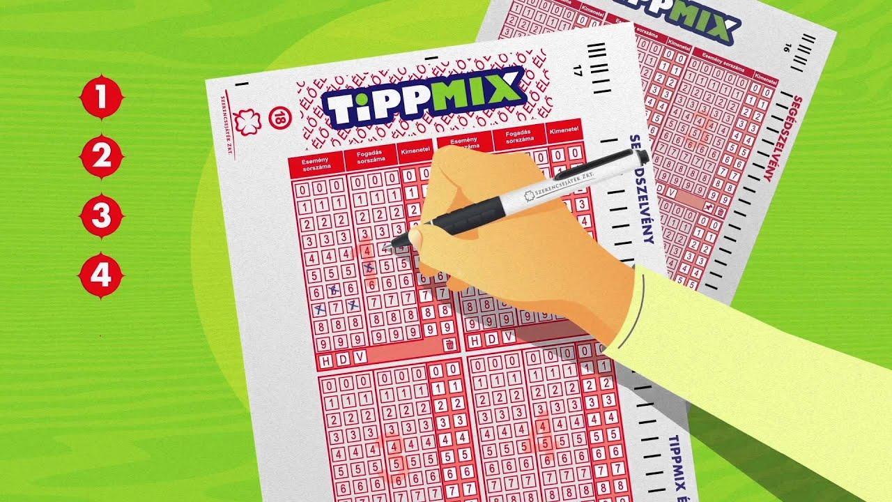 Az új Tippmix segédszelvény kitöltése élő fogadásoknál