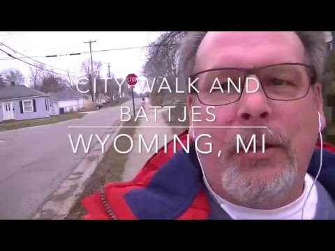 Walking in Wyoming, MI Streets and Battjes Park