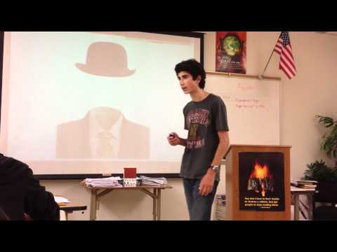 Novel Project Presentation  (2012)