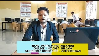 Parth Kulkarni's Live Review of DTPP program...