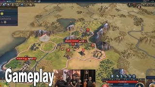 Civilization VI: Gathering Storm - Gameplay Reveal [HD 1080P]