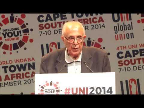Ahmed Kathrada illuminates UNI World Congress