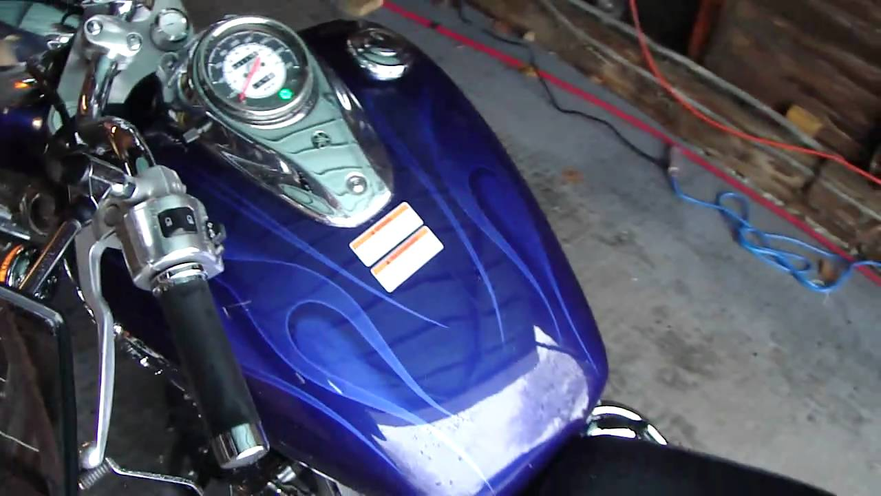 2005 Yamaha V Star 650 Custom With Baron Accessories 950 Wiring Diagram Tachometer Walk Around Youtube