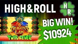 Play Dragons Law Slot Machine Online (Konami) Free Bonus Game