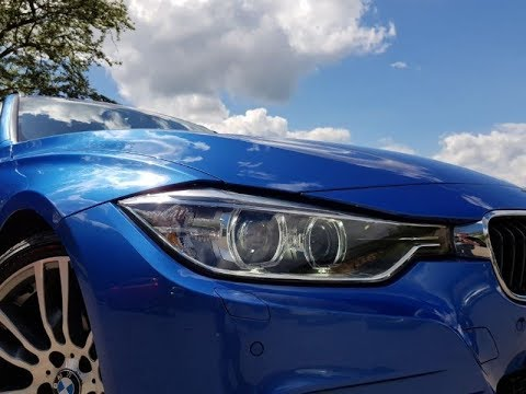 BMW F31 330D Series M Sport Touring. Plus Pack In Estoril Blue REVIEW F30