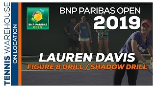 Some of the best Tennis Footwork Drills with WTA's Lauren Davis