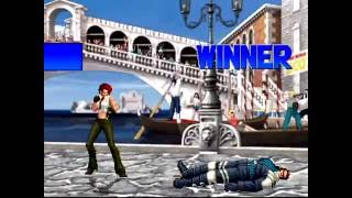 The King of Fighters 2001 (PlayStation 2) Arcade as Iori Team