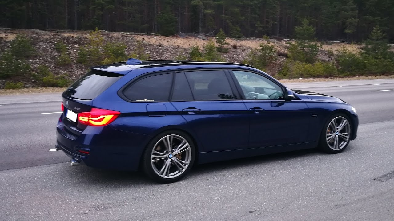 Bmw 340i F31 Mppsk Launch Control Youtube