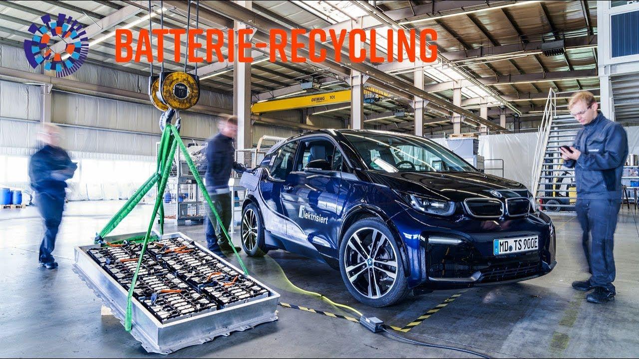 Le recyclage des batteries, où en sommes-nous?