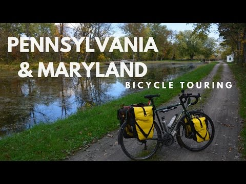 Bicycle Touring: Pennsylvania & Maryland