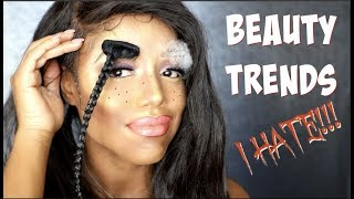 MAKEUP & BEAUTY TRENDS I HATE! | Ellarie