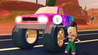 MONSTER TRUCK, FERRARI, AND MUSTANG CARS!! NEW JAILBREAK UPDATE LIVE! 🔴 (Roblox Jailbreak)