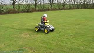 Детский квадроцикл Peg-Perego Corral T-Rex Video