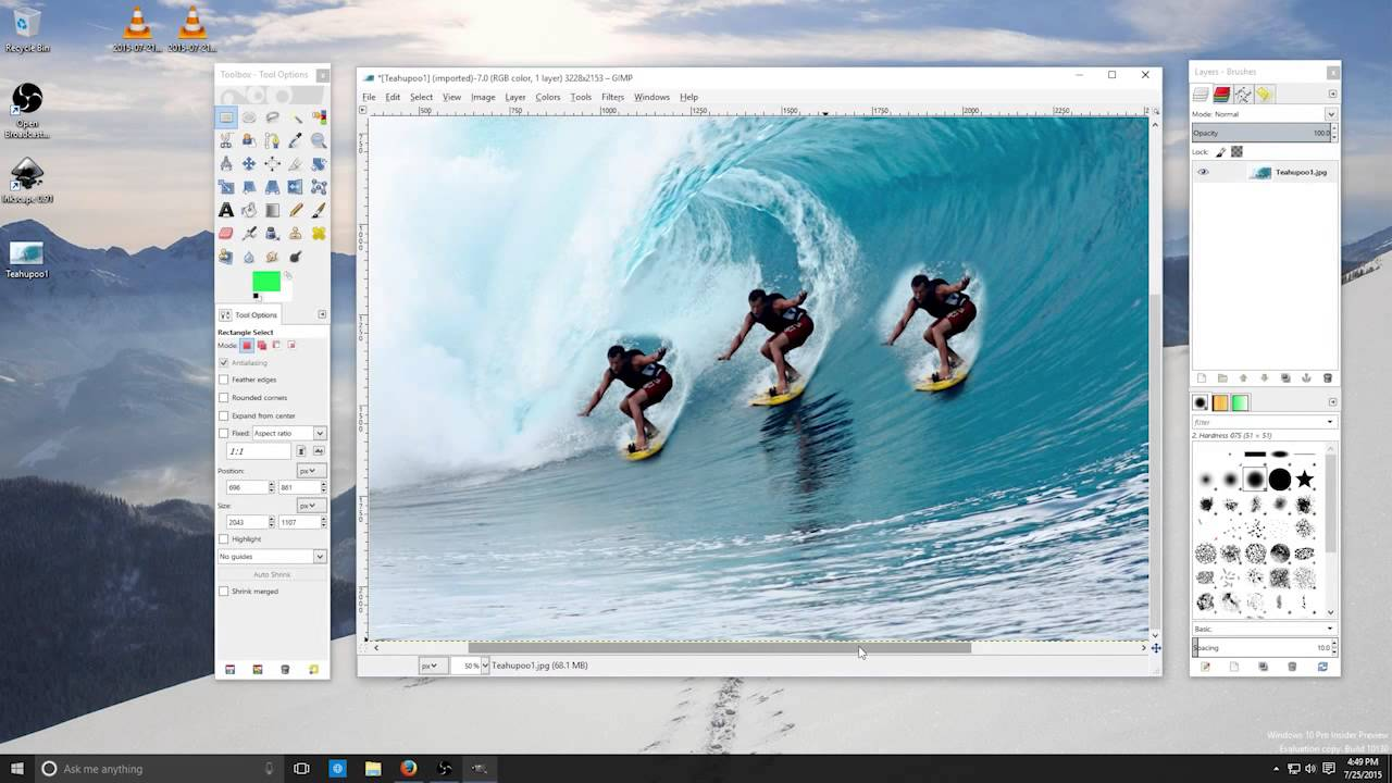 Photo Editing Software Video - Portrait