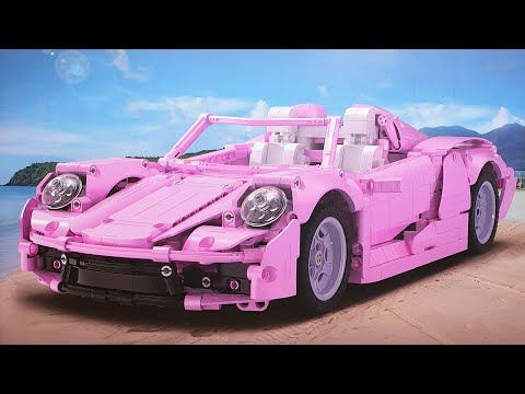 CaDA Pink Holiday Supercar • Unboxing & Review (C61029W)