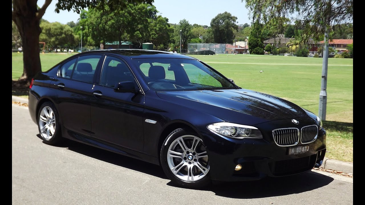 2013 bmw 535d m sport f10 sedan automatic 89 youtube. Black Bedroom Furniture Sets. Home Design Ideas