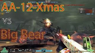 CrossFire VN - AA-12 Xmas Gameplay vs Big Bear (no VIP)