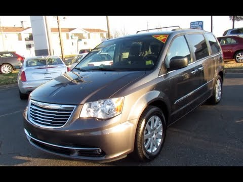 2015 Chrysler Town & Country Touring Walkaround, Start Up, Tour And Overview