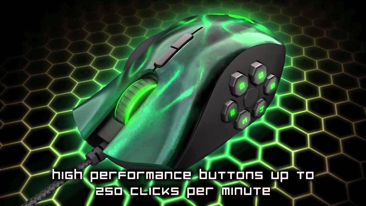 Razer's Naga Hex - RPG Mouse