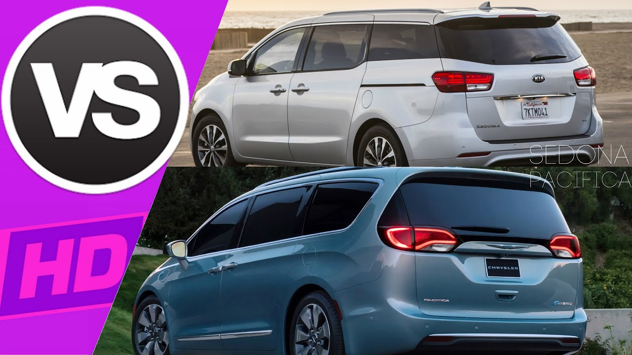2017 chrysler pacifica vs kia sedona youtube for Chrysler pacifica vs honda odyssey