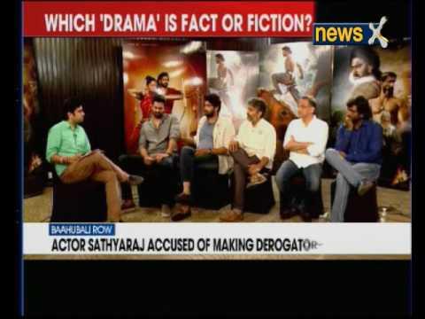 Actor Sathyaraj accused of making derogatory remarks; 'Baahubali' release in trouble?