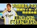 プロ野球モノマネで実際にホームラン打てるまで帰れません!【阪神タイガース現役選…