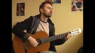 """Download """"Её глаза"""" - Би-2   соло кавер на гитаре В.Трощинков   уроки гитары Киев и Скайп Mp3 and Videos"""
