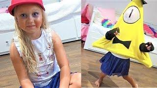 Алиса и Надя играют в игру для детей ГРАВИТИ ФОЛЗ !  Kids play Gravity Falls