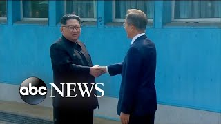 North Korea, South Korea agree to end war