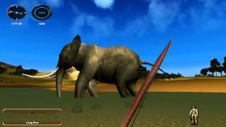 Taking an Elephant down with a Bow (Hunting Unlimited 2010)